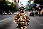 California National Guard in town