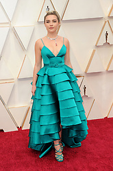 Florence Pugh at the 92nd Academy Awards held at the Dolby Theatre in Hollywood, USA on February 9, 2020.