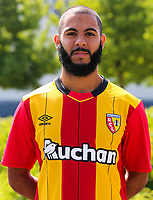 Abdelrafik Gerard during photoshooting of RC Lens for new season 2017/2018 on October 5, 2017 in Lens, France<br /> Photo by RC Lens / Icon Sport