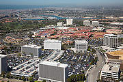 Aerial Stock Photo of Fashion Island in Newport Beach California