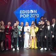 NLD/Amsterdam/20200211 - Uitreiking Edison Pop 2020, Winnaars Edison Awards 2020
