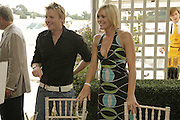 James Midgler and Jenni Falconer, Veuve Clicquot Gold Cup 2006. Final day. 23 July 2006. ONE TIME USE ONLY - DO NOT ARCHIVE  © Copyright Photograph by Dafydd Jones 66 Stockwell Park Rd. London SW9 0DA Tel 020 7733 0108 www.dafjones.com