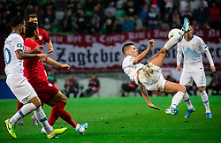 Roman Bezjak of Slovenia during the 2020 UEFA European Championships group G qualifying match between Slovenia and Poland at SRC Stozice on September 6, 2019 in Ljubljana, Slovenia. Photo by Vid Ponikvar / Sportida