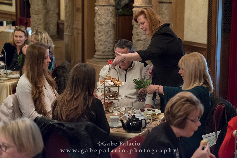 Holiday Tea Musicale in the Music Room of the Rosen House at Caramoor in Katonah New York on December 8, 2017. <br /> (photo by Gabe Palacio)