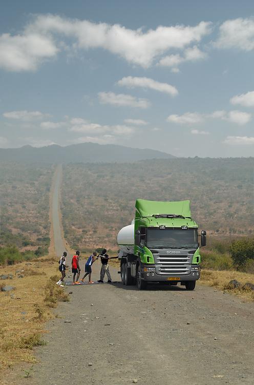Image for Scania's international truck calendar.