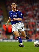 Fotball<br /> Premier League England 2003/2004<br /> 20.09.2003<br /> Liverpool v Leicester<br /> NORWAY ONLY<br /> Foto: Digitalsport<br /> <br /> BEN THATCHER LEICESTER CITY