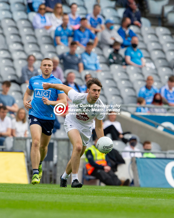 01–08-21.<br /> Dublin v Kildare - Leinster Senior Football Championship Final at Croke Park.<br /> Darragh Malone, Kildare in action against Dublin in the Leinster Senior Football Championship Final.<br /> Photo: John Quirke / www.quirke.ie<br /> ©John Quirke Photography, 16 Proudstown Road, Navan. Co. Meath. (info@quirke.ie / 046-9028461 / 087-2579454).
