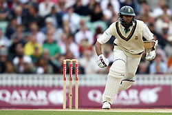South Africa's Hashim Amla in action against England