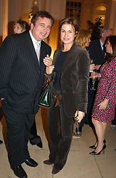 EAMON HOLMES and EMMA FORBES at a party hosted by Bentley motorcars held at The Orangery, Kensington Palace, London on 3rd November 2004.<br /><br />NON EXCLUSIVE - WORLD RIGHTS