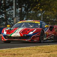 #71, Ferrari 488 GTE Evo, AF Corse, drivers: D. Rigon, M. Molina, S. Bird, GTE Pro, Le Mans 24H 2020. on 20/09/2020