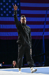 March 2, 2019 - Greensboro, North Carolina, US - BART DEURLOO from the Netherlands is introduced to the crowd at the Greensboro Coliseum in Greensboro, North Carolina. (Credit Image: © Amy Sanderson/ZUMA Wire)