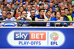 Reading fans in the stands