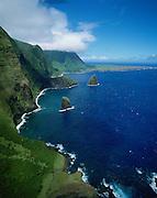 North Shore, Molokai, Hawaii, USA<br />