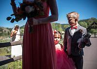 Wedding — Amber Findahl and Kelly Gile, Chapel of the Transfiguration, Grand Teton National Park, Wyo.