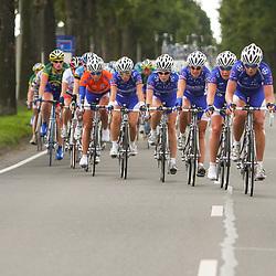 Ladiestour 2008 Limburg<br />Team Nurnberger defending orange jersey