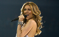 """Celine Dion performs the song """" I Drove All Night"""" at the Sommet Center in Nashville, Tennessee on Tuesday, January 13, 2008. (Photo by Frederick Breedon) Photo © Frederick Breedon. All rights reserved. Unauthorized duplication prohibited."""