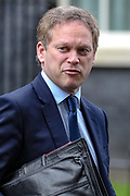 March 17, 2020, London, England, United Kingdom: Transport Secretary Grant Shapps leaves Downing Street, London, on Tuesday, Mar 17, 2020 - the day after Prime Minister Boris Johnson called on people to stay away from pubs, clubs and theatres, work from home if possible and avoid all non-essential contacts and travel in order to reduce the impact of the coronavirus pandemic. (Credit Image: © Vedat Xhymshiti/ZUMA Wire)