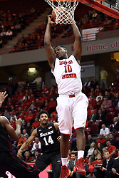 25 February 2015:   John Jones during an NCAA MVC (Missouri Valley Conference) men's basketball game between the Southern Illinois Salukis and the Illinois State Redbirds at Redbird Arena in Normal Illinois