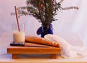 Alaska sourdough bread prepared by Chef Kirsten Dixon of Winterlake Lodge, Alaska.