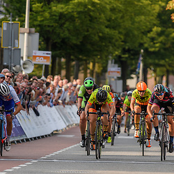 01-09-2017: Wielrennen: Boels Ladies Tour: Weert<br /> The 4th stage end in a mass sprint at Weert, Lisa Brennauer wins, Chloe Hosking is second and Roxane Fournier take 3rth place