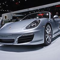 Porsche  Boxster S at the Geneva Motor Show 2014