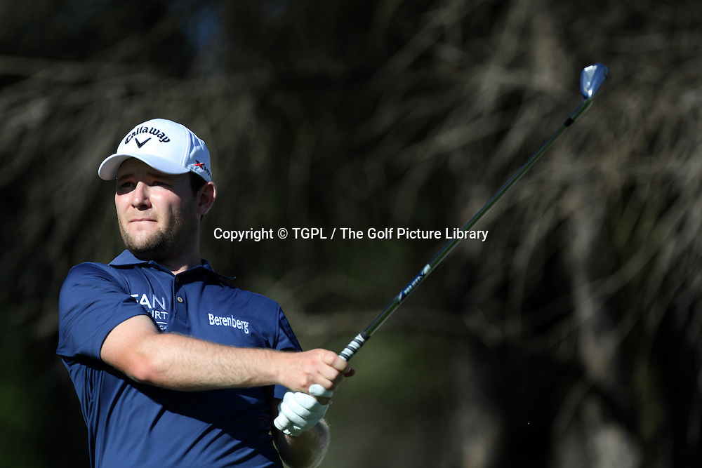 Branden GRACE (RSA) during second round Turkish Airlines Open by Ministry of Culture and Tourism 2013,Montgomerie Course at Maxx Royal,Belek,Antalya,Turkey.
