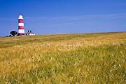 Lighthouse at Happisburgh, Norfolk coast, United Kingdom