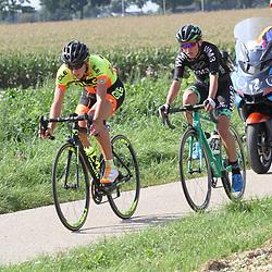 03-09-2017: Wielrennen: Boels Ladies Tour: Sittard: Janneke Ensing; Kasia Niewiadoma