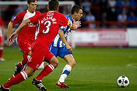 Sean McConville. Kidderminster Harriers FC 1-1 Stockport County. Blue Square Bet Premier. 23.8.11