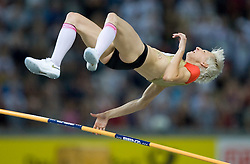 Ariane Friedrich of Germany competes in the women's High Jump Final during day six of the 12th IAAF World Athletics Championships at the Olympic Stadium on August 20, 2009 in Berlin, Germany. (Photo by Vid Ponikvar / Sportida)