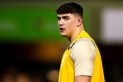 James Scott of England U20 - Mandatory by-line: Robbie Stephenson/JMP - 22/02/2019 - RUGBY - Zip World Stadium - Colwyn Bay, Wales - Wales U20 v England U20 - Under-20 Six Nations