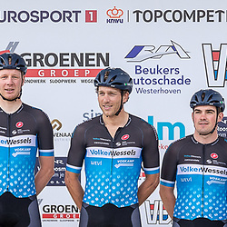 VELDHOVEN (NED) July 4 <br /> CYCLING <br /> The first race of the Schwalbe Topcompetition the Simac Omloop der Kempen<br /> VolkerWessels Cyclingteam