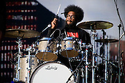 The Roots perform at the 2014 Global Citizen Festival at Central Park in New York City on 27 September 2014.