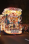 The Mississippi Queen Destination Mardi Gras by Ramblers Carnival Club at the 2011 Glastonbury Chilkwell Guy Fawkes Carnival.