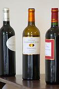 Ourdivieille red wine between L'Opera and La Syrah. Chateau Villerambert-Julien near Caunes-Minervois. Minervois. Languedoc. France. Europe. Bottle.