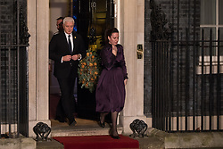 London, UK. 3 December, 2019. Duško Marković, Prime Minister of Montenegro, leaves following a reception for NATO leaders at 10 Downing Street on the eve of the military alliance's 70th anniversary summit at a luxury hotel near Watford.
