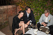 ANNA BALLESTREM; JACOB AUGTEIN, Sarah Lucas- Scream Daddio party hosted by Sadie Coles HQ and Gladstone Gallery at Palazzo Zeno. Venice. 6 May 2015.