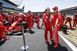 July 8, 2018 - Silverstone, Great Britain - Motorsports: FIA Formula One World Championship 2018, Grand Prix of Great Britain, ..#7 Kimi Raikkonen (FIN, Scuderia Ferrari) (Credit Image: © Hoch Zwei via ZUMA Wire)