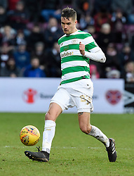 CelticÕs Michael Lustig in action during the Ladbrokes Scottish Premiership match at Tynecastle Stadium, Edinburgh. PRESS ASSOCIATION Photo. Picture date: Sunday December 17, 2017. See PA story SOCCER Hearts. Photo credit should read: Ian Rutherford/PA Wire. EDITORIAL USE ONLY