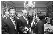 Howard Rubenstein, Rupert Murdoch, ? and Madame Deng Maomao, Basic Books party for Madame Deng Maomao, Waldorf  Astoria, Tower. New York 15th February 1995 © Copyright Photograph by Dafydd Jones 66 Stockwell Park Rd. London SW9 0DA Tel 020 7733 0108 www.dafjones.com