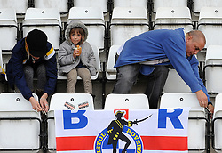 Fans - Mandatory byline: Neil Brookman/JMP - 07966 386802 - 03/10/2015 - FOOTBALL - Globe Arena - Morecambe, England - Morecambe FC v Bristol Rovers - Sky Bet League Two