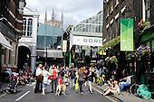 20120728 Londres Ambiance Marche Jeux Olympiques Londres