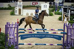 Van Der Vleuten Maikel, (NED), Verdi NOP <br /> Training session<br /> Longines FEI World Cup™ Jumping Finals <br /> Las Vegas 2015<br />  © Hippo Foto - Dirk Caremans<br /> 15/04/15