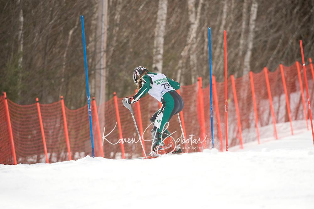 Tony Buttinger Memorial Slalom at Gunstock February 14, 2010...1st run J3