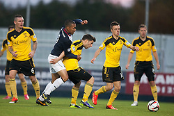 Falkirk's Phil Roberts.<br /> Falkirk 4 v 1 Livingston, Scottish Championship game played today at the Falkirk Stadium.<br /> ©Michael Schofield.