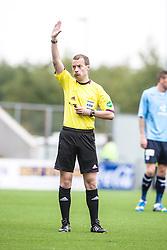 Ref Willie Collum.<br /> Falkirk 3 v 1 Dundee, 21/9/2013.<br /> ©Michael Schofield.