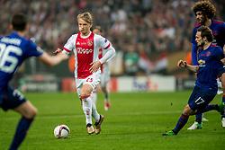 24-05-2017 SWE: Final Europa League AFC Ajax - Manchester United, Stockholm<br /> Finale Europa League tussen Ajax en Manchester United in het Friends Arena te Stockholm / Kasper Dolberg #25 of Ajax