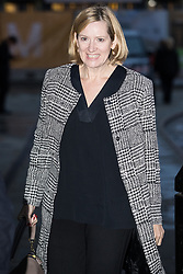 © Licensed to London News Pictures . 30/09/2017. Manchester, UK.  Home Secretary AMBER RUDD arrives at the Midland Hotel as Manchester prepares for the Conservative Party Conference , which is taking place inside a secured zone around the Manchester Central Convention Centre . Photo credit: Joel Goodman/LNP
