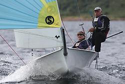 Peelport Clydeport Largs Regatta Week 2013 <br /> <br /> GBR1372, Oviwan, Int. 14, Chris Nicol amnd Dawn Macrae<br /> <br /> Largs Sailing Club, Largs Yacht Haven, Scottish Sailing Institute