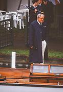 "Henley on Thames,  United Kingdom, FISA President Thomas ""Tommi"" KELLER, 1988 Henley Royal Regatta, Henley Reach, Thames Valley, British Summertime.<br /> [Mandatory Credit, Peter SPURRIER/Intersport Images] <br /> <br /> Scans from Positives, April 2019"